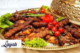 Turkse catering mixgrill