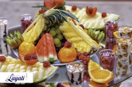 Marokkaanse keuken fruitschaal