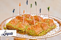 Turkse catering baklava