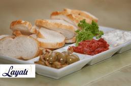 Turkse catering mezeh