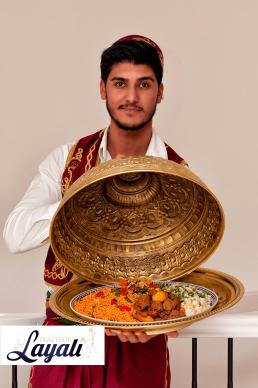 Turkse catering tajine rijst