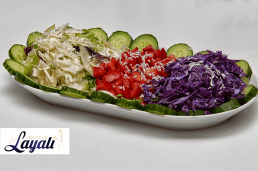 Turkse catering salade