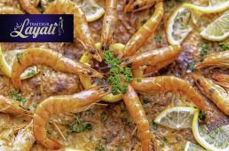 Marokkaanse keuken vispastilla